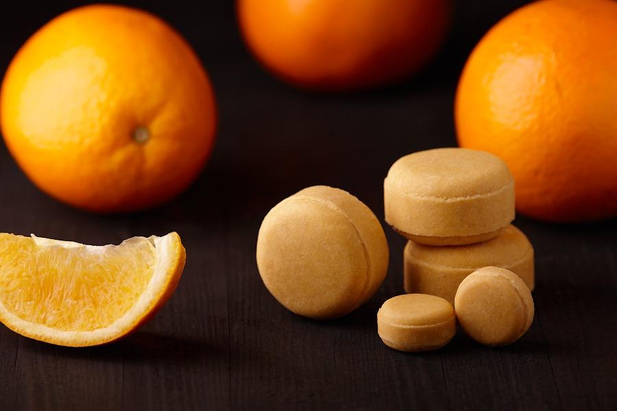 "Твердый шампунь с куркумой ""Orange"""