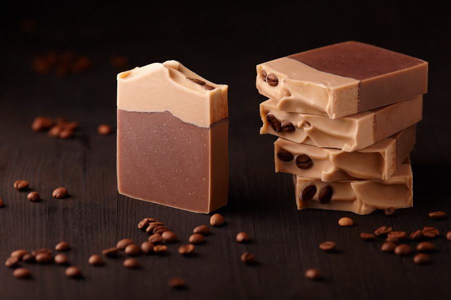 Мыло кофейное