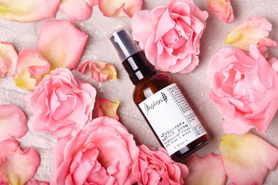 Гидролат (цветочная вода) Крымской розы